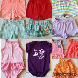 Baby Girl 0/3 Months Summer Clothing Bundle
